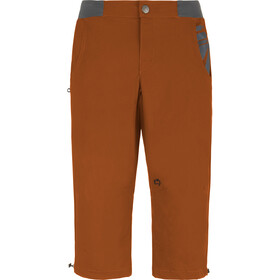 E9 3Quart Miehet Lyhyet housut , oranssi
